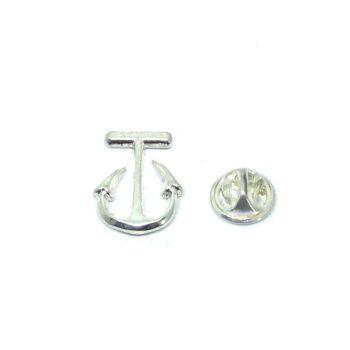 Silver plated Anchor Pin
