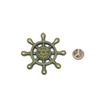 Bronze Nautical Lapel Pin