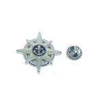 Star Anchor Lapel Pin