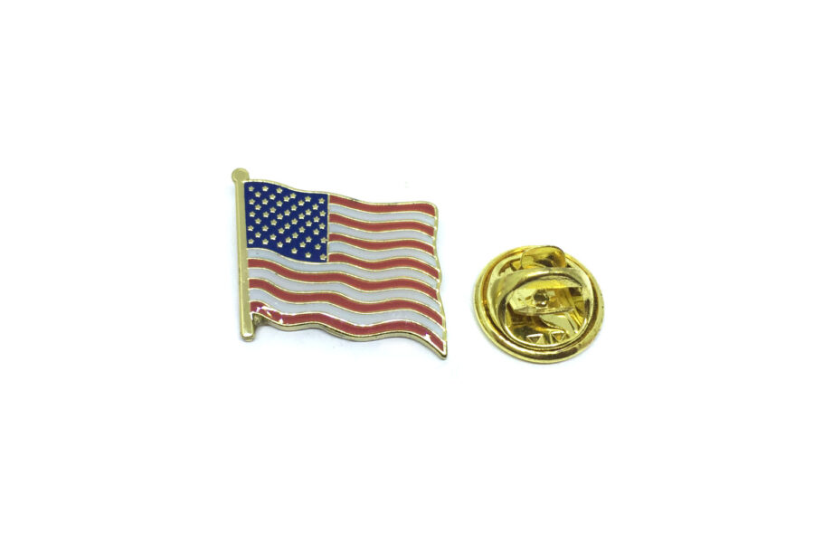 American Flag Enamel Pin
