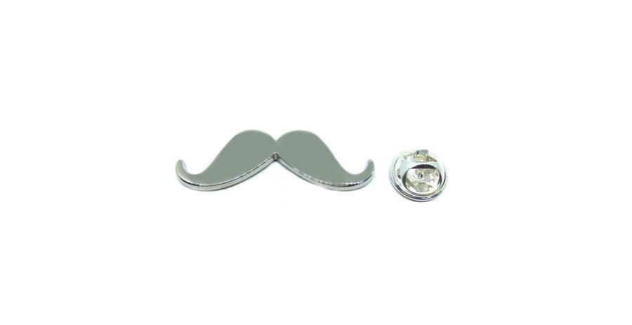 Mustache Lapel Pin