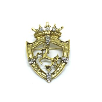 Gold plated Brooch Pin