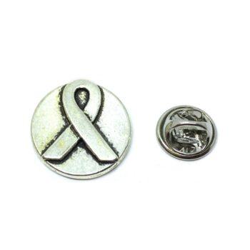 Round charm Awareness Lapel Pin