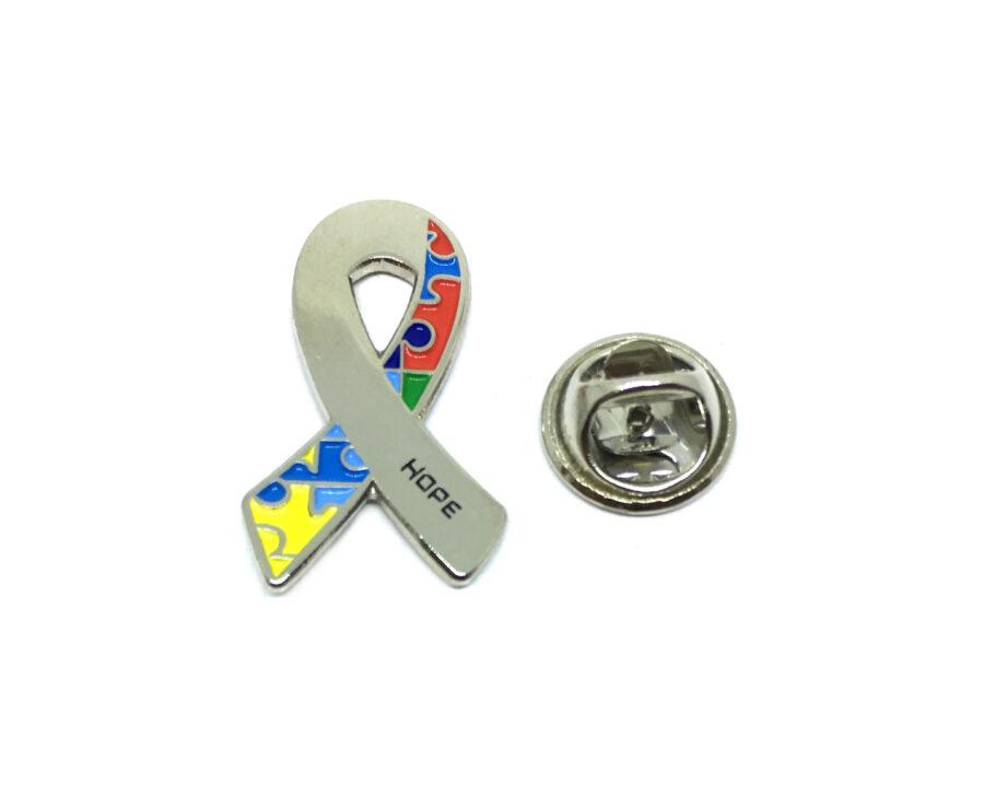 Autism Awareness Hope Lapel Pin