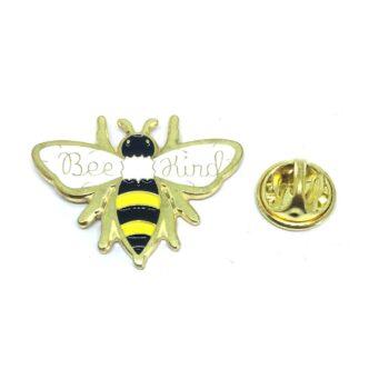 """""""Bee Kind"""" Lapel Pin"""
