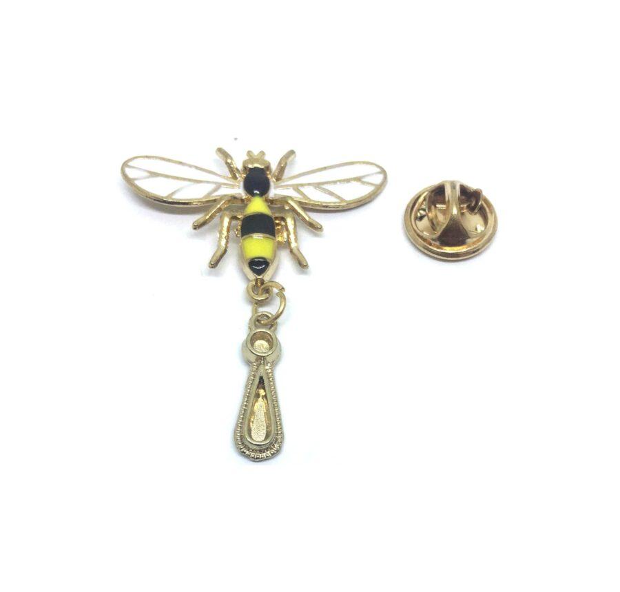 Long Bee Lapel Pin