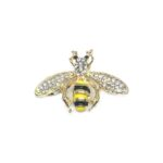 Gold plated Bee Brooch Pin