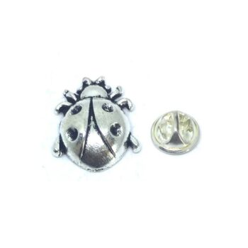 Silver plated Bee Lapel Pin