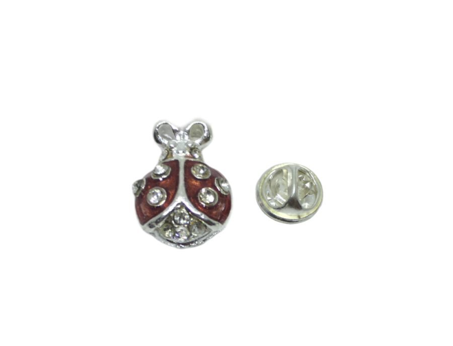 Crystal Bee Lapel Pin