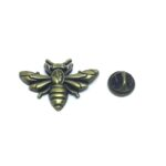Bronze Bee Lapel Pin