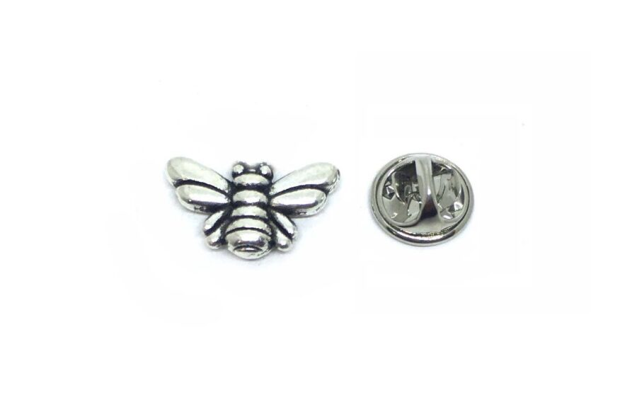 Silver Plated Bee Lapel Pins