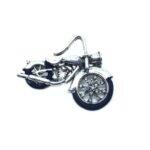 Biker Brooch Pin