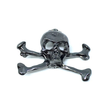 Antique Skull Biker Pin