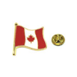 Enamel Canada Flag Pin