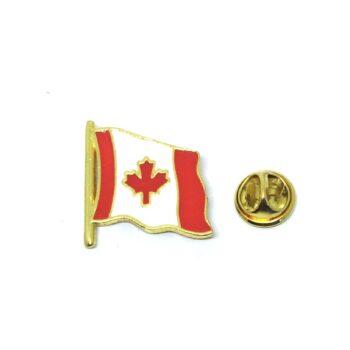 Enamel Canada Flag Lapel Pin