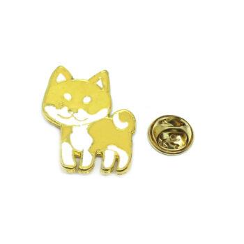 Cat Enamel Lapel Pin