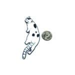 Walking Cat Lapel Pin