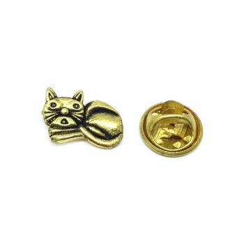 Antique Cat Lapel Pin