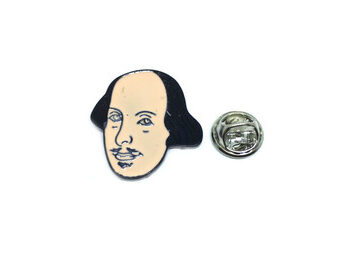 Shakespeare Lapel Pin