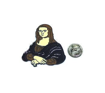 Mona Lisa Lapel Pin