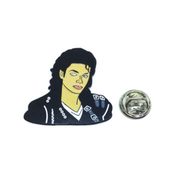 Michael Jackson Lapel Pin