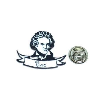 Ludwig van Beethoven Lapel Pin