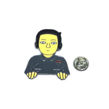 Riverdale Figure Character Lapel Pin