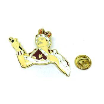 Freddie Mercury Lapel Pin