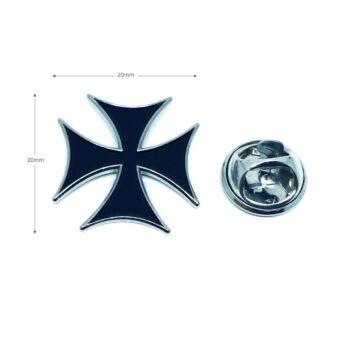 Silver tone Cross Pin