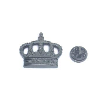 Antique Crown Lapel Pin