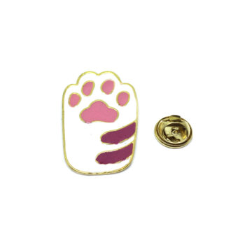 Gold plated Dog Pin
