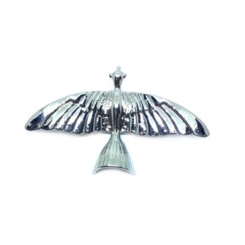 Silver plated Dove Brooch Pin
