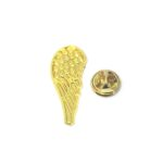 Gold plated Feather Pin