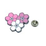 Multi-color Enamel Flower Lapel Pin