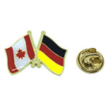 Germany & Canada Flag Lapel Pins