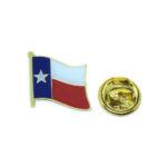 Enamel Texas Flag Lapel Pin