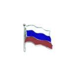 Russian Flag Lapel Pin