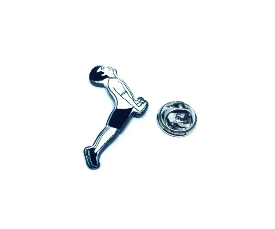 Gymnastics Enamel Pin