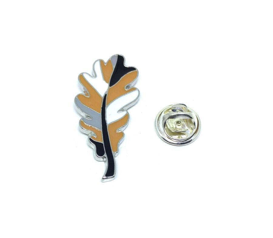 Enamel Leaf Lapel Pin