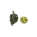 Antique Leaf Lapel Pin