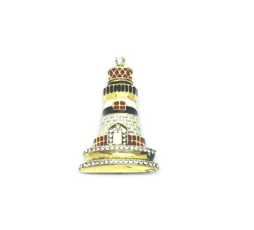 Lighthouse Brooch Pin