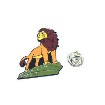 Lion King Enamel Lapel Pin