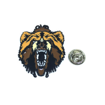Roaring Lion Lapel Pin