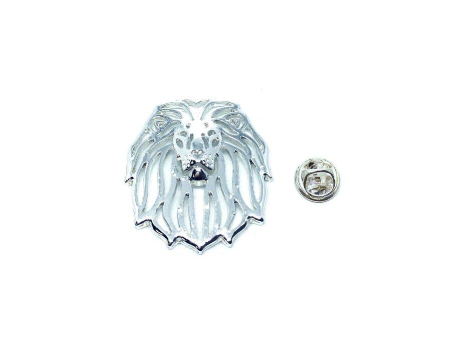Lion Head Pin
