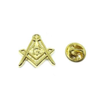 Gold plated Masonic Pin