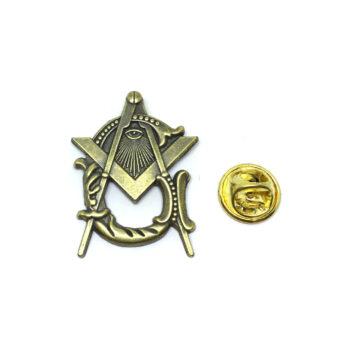 Enamel Masonic Lapel Pins