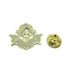 Gold platting Masonic Lapel Pin