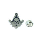 Skull Masonic Lapel Pin