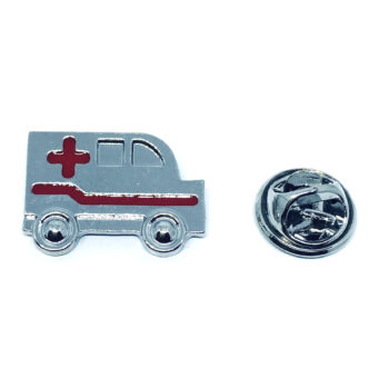Enamel Ambulance Medical Pin