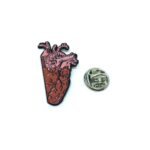 Body Heart Lapel Pin